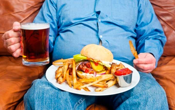 Причины мужского ожирения