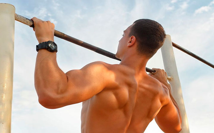 Как накачать мышцы на турнике