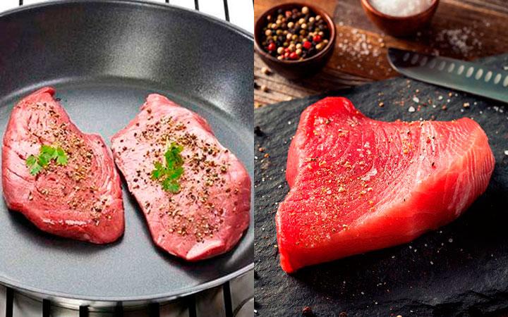 Мясо с кинзой