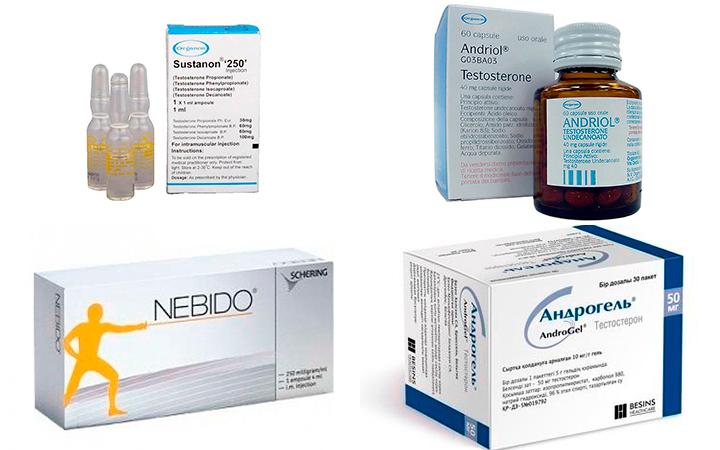 Препараты повышающие тестостерон