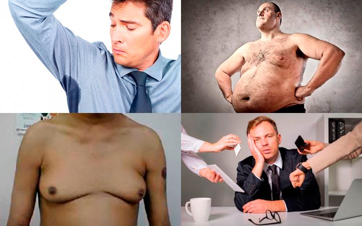 Признаки пониженного тестостерона