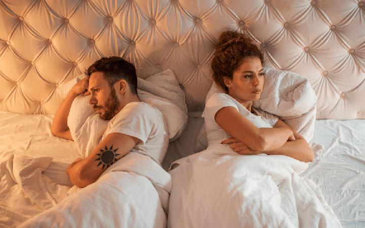 Длительное недостаток полового контакта
