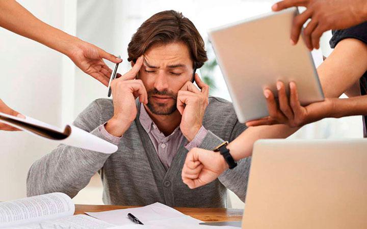 Стресс и переутомление