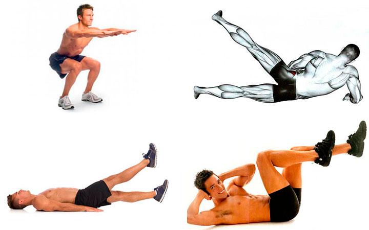 Упражнения от простатита у мужчин