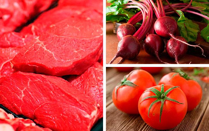 Для снижения уровня гемоглобина в крови придется отказаться от следующих продуктов