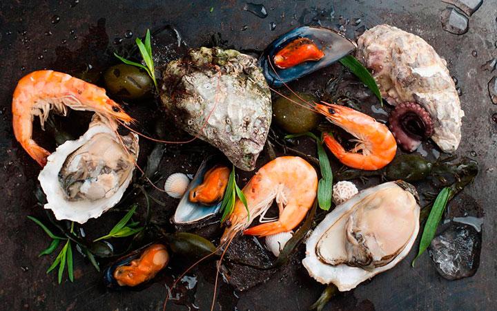 Морепродукты запрещены при высоком уровне холестерола