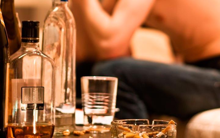 Чрезмерное увлечение алкоголем