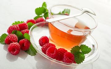 Чай с листьями смородины и малины