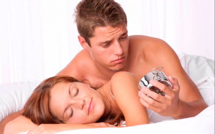 Какая средняя продолжительность секса у мужчины с женщиной
