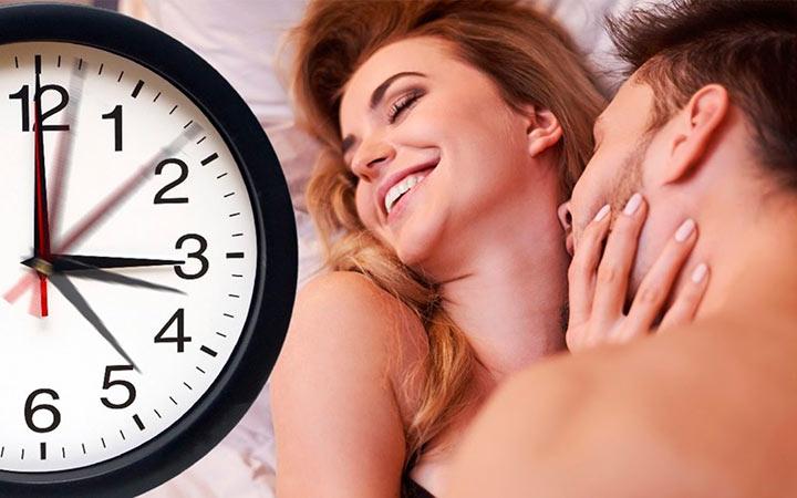 Сколько длится половой акт и какова его средняя продолжительность
