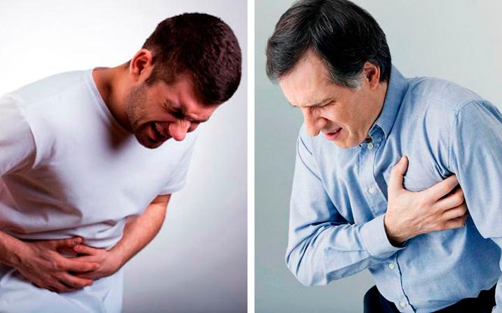 Противопоказано при заболевании сердца и печени