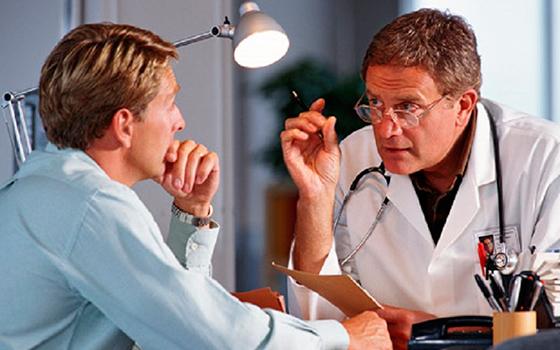 Пациент у доктора