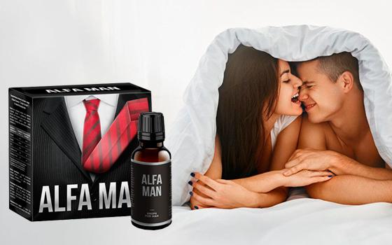 Препарат для потенции Alfa Man
