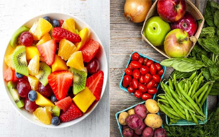 Фрукты, овощи и ягоды