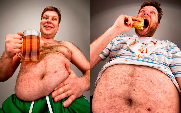 Основные причины отложения жира