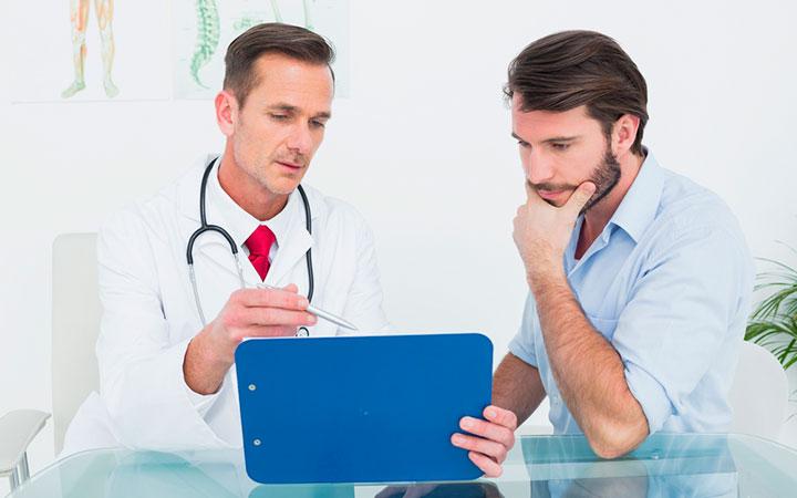 Пациент у эндокринолога