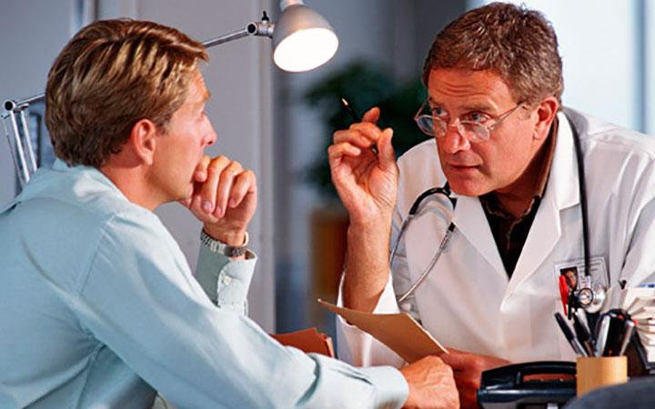 Пациент у гематолога