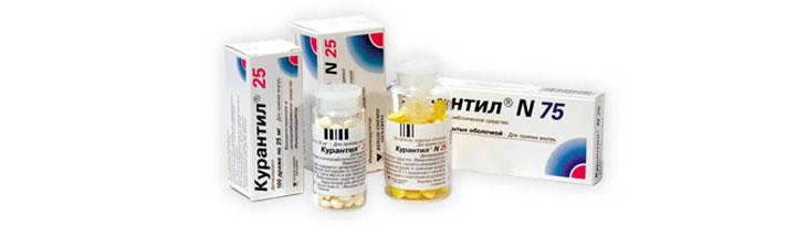 Курантил - препарат для снижения гемоглобина