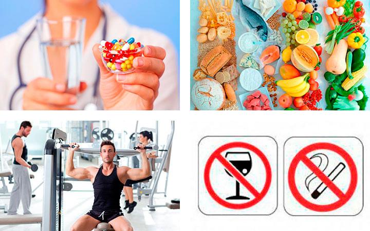 Терапевтическое лечение при отклонении уровня гормонов