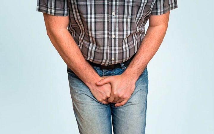 Боль в области половых органов