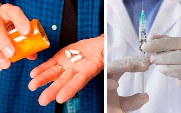 Поднять гемоглобин можно с помощью таблеток и инъекций