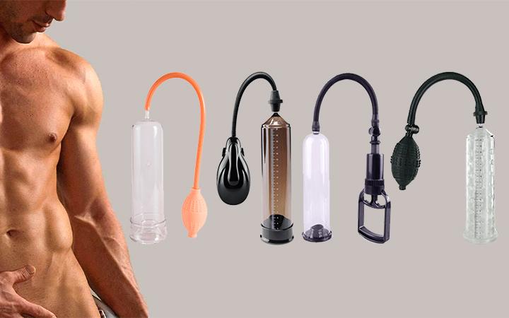 Вакуумная помпа для увеличения пениса: виды и инструкция