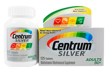 Centrum Silver Adults 50+