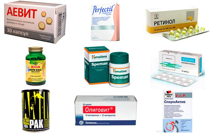 Витамины для мужчин после 30 лет